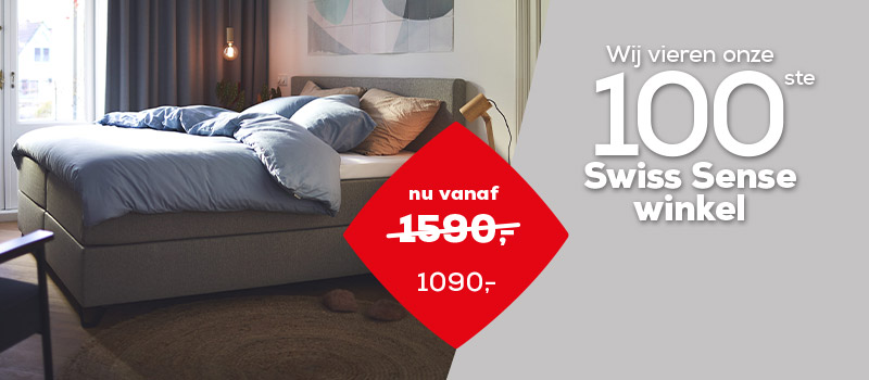 Boxsprings Home 365 banner | Swiss Sense