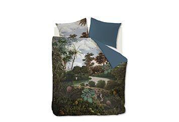 At Home by Beddinghouse Voyage Dekbedovertrek Green