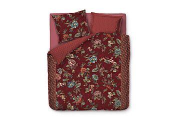 Pip Studio Poppy Stitch Dekbedovertrek Red