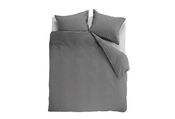 Beddinghouse Basic Gots Dekbedovertrek Grey