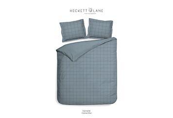 Heckett & Lane Diamante Dekbedovertrek Colonial Blue