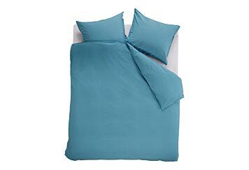 Beddinghouse Basic Gots Dekbedovertrek Blue Grey