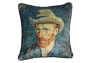 Van Gogh Blue Sierkussen