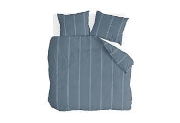 Walra Remade Cotton Blend Dekbedovertrek Blue