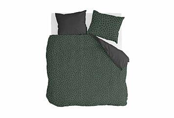 Walra Dekbedovertrek Spots & Dots Dark Green