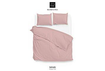 Zo!Home Satinado Dekbedovertrek Shady Pink