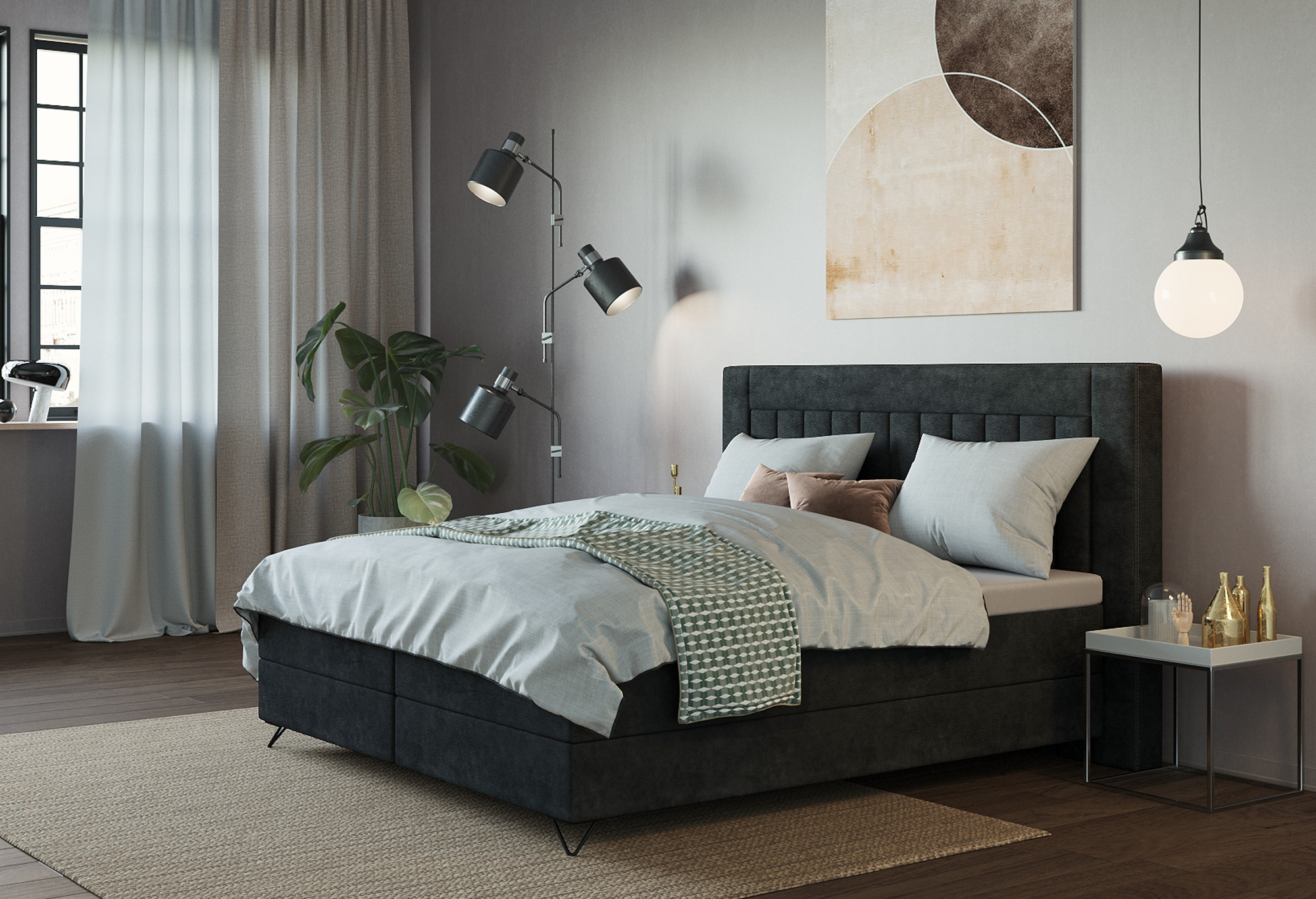 Boxspring Capella Modeno | Capella Collectie| Swiss Sense