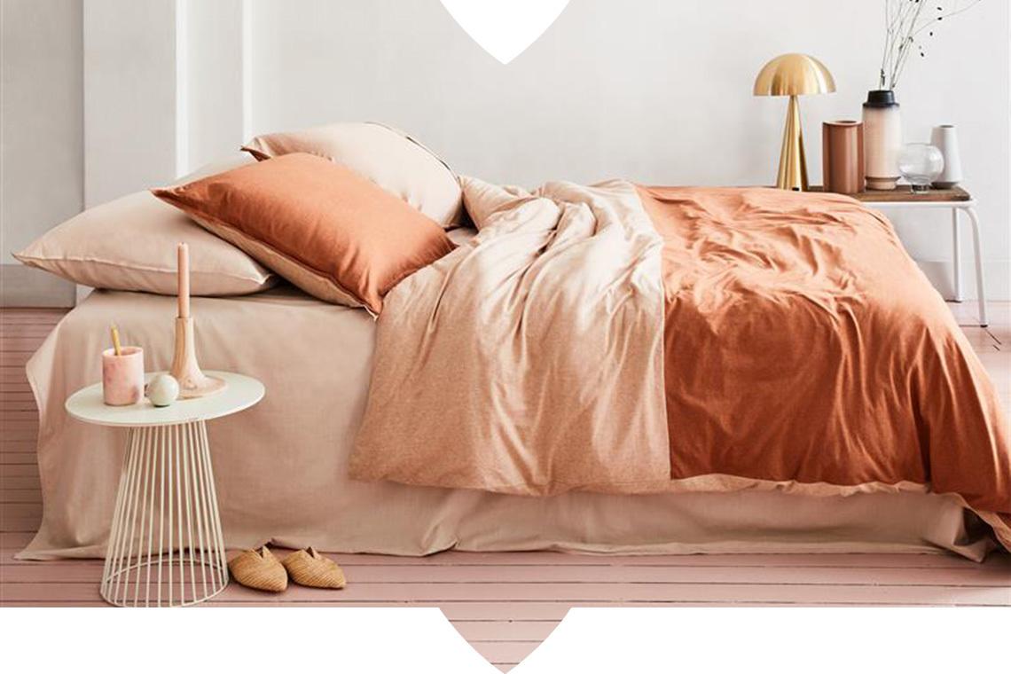 In 4 stappen een sfeervolle slaapkamer met het nieuwe vtwonen beddengoed
