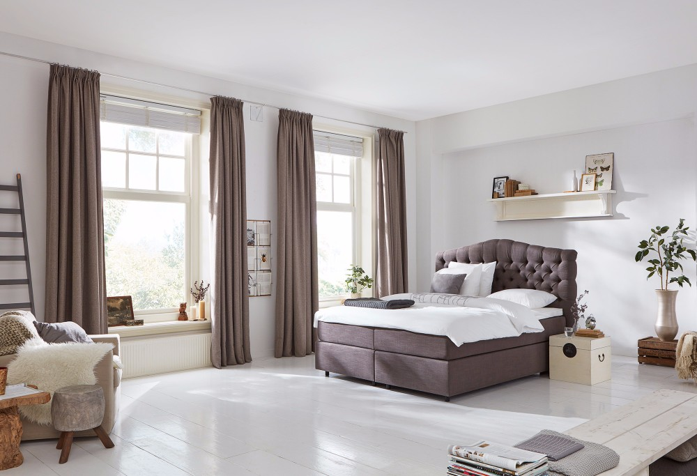 Bruine Boxspring Home 330 -1