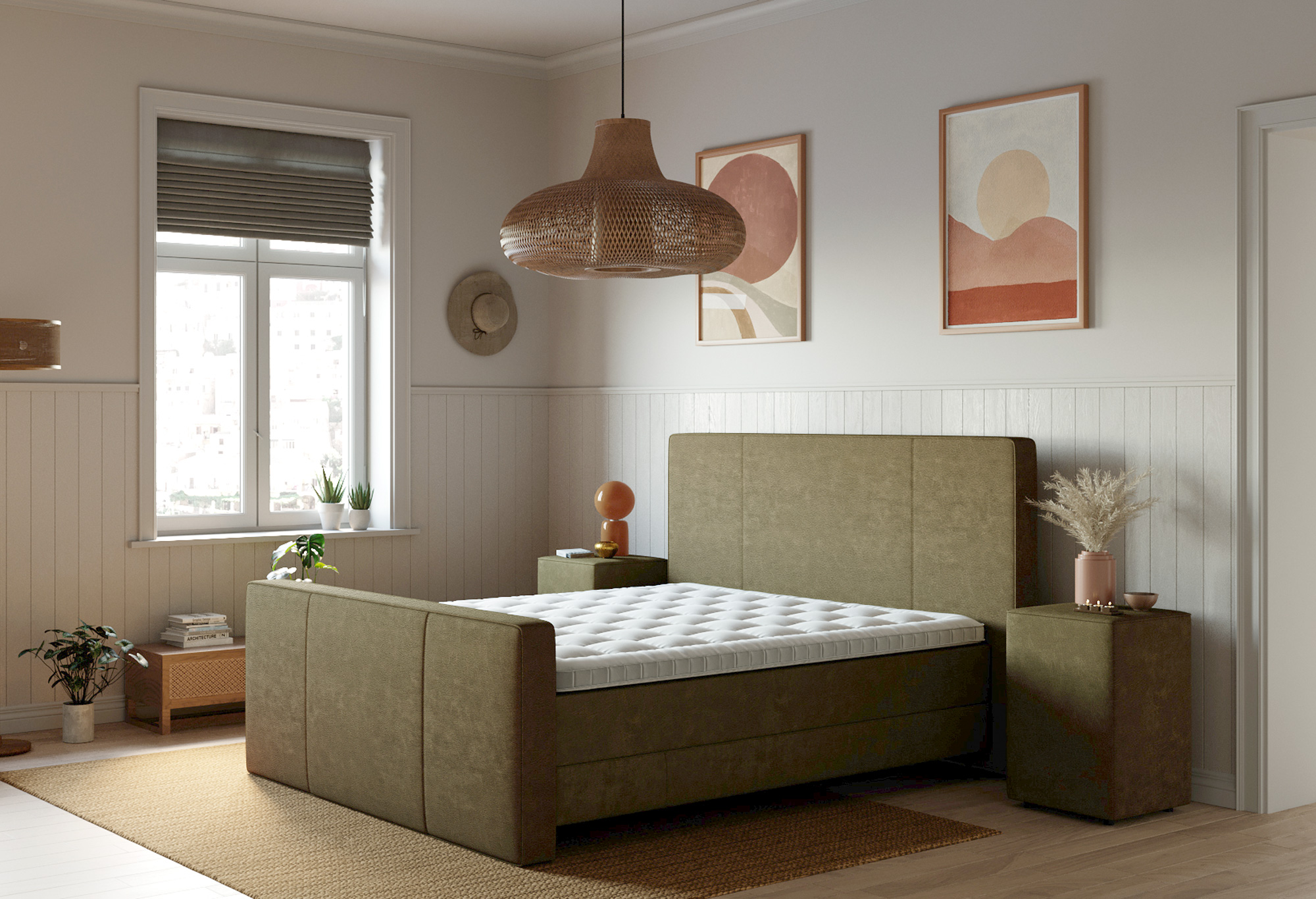 Boxspring Capella Ravello |Matras| Swiss Sense
