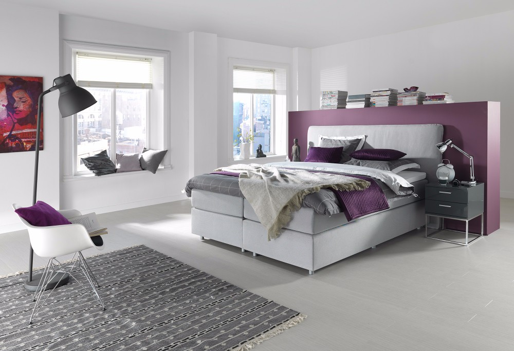 Witte Boxspring Home 300