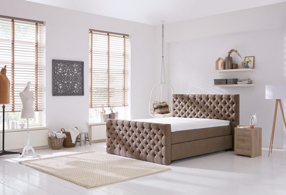 Bruine Boxspring Home 320 -2