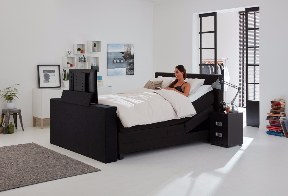 tv lift bed frame tyres2c. Black Bedroom Furniture Sets. Home Design Ideas