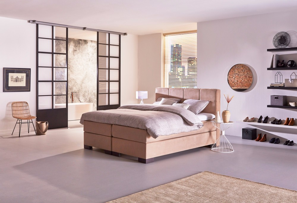 boxspring night hamburg swiss sense. Black Bedroom Furniture Sets. Home Design Ideas