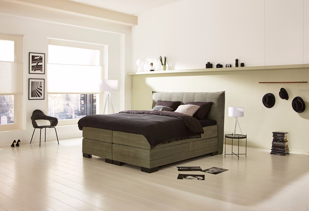 boxspring night vienna swiss sense. Black Bedroom Furniture Sets. Home Design Ideas