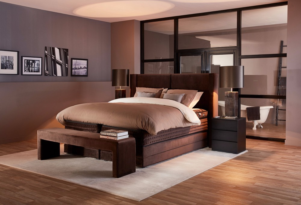 boxspring royal vanquish swiss sense. Black Bedroom Furniture Sets. Home Design Ideas