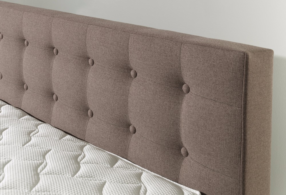 bruine Hotelboxspring Charlotte Deluxe