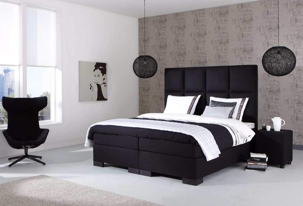 boxspring night atlanta swiss sense. Black Bedroom Furniture Sets. Home Design Ideas