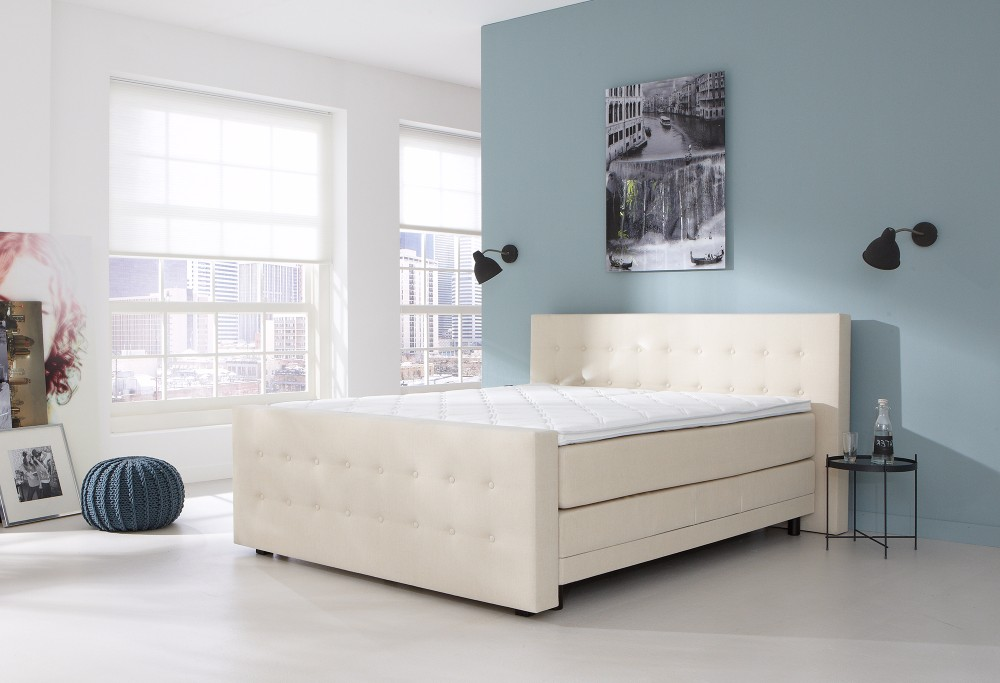 Witte Boxspring Home 240