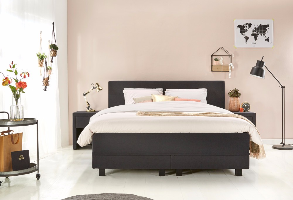 boxspring home 170 swiss sense. Black Bedroom Furniture Sets. Home Design Ideas