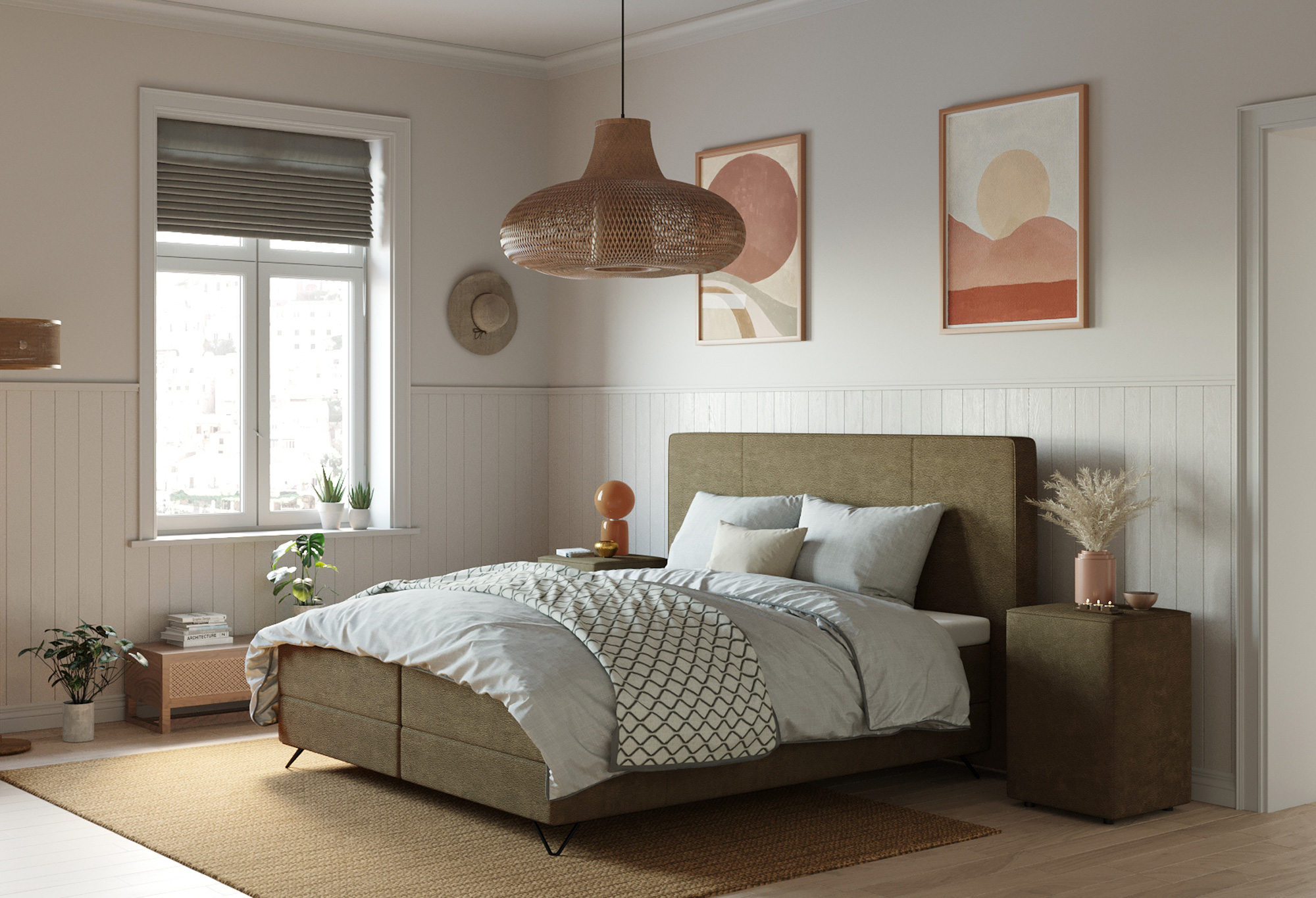 Boxspring Capella Ravello |Capella Collectie| Swiss Sense