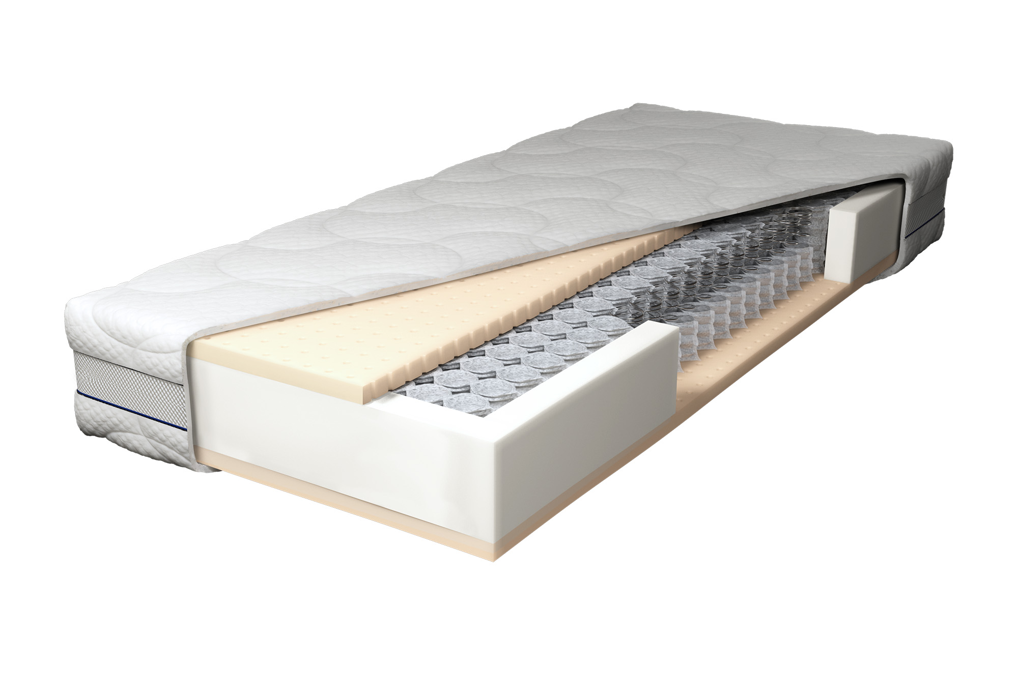 Latex Matras Ervaringen : Gazella gold pocketvering deluxe matras swiss sense
