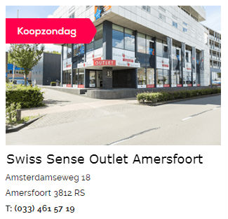 Swiss Sense Outlet Amersfoort