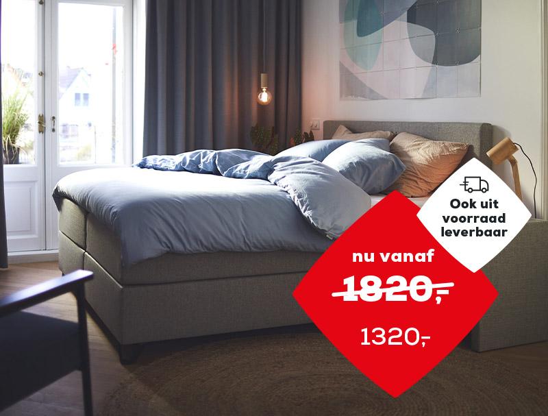 Lentevoordeel   Boxspring Home 180   Swiss Sense