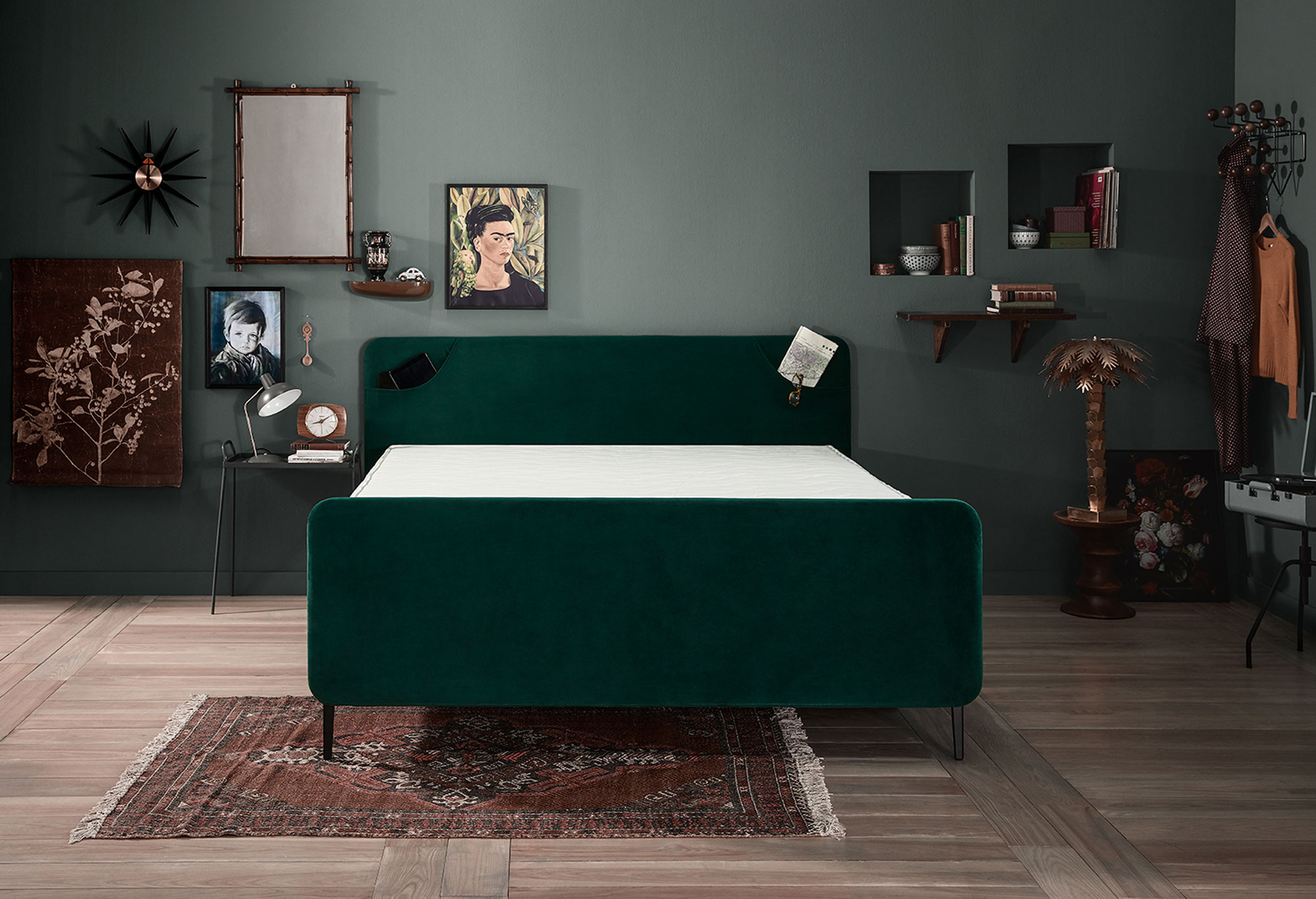 Boxspring Lifestyle by vtwonen Basil | Swiss Sense