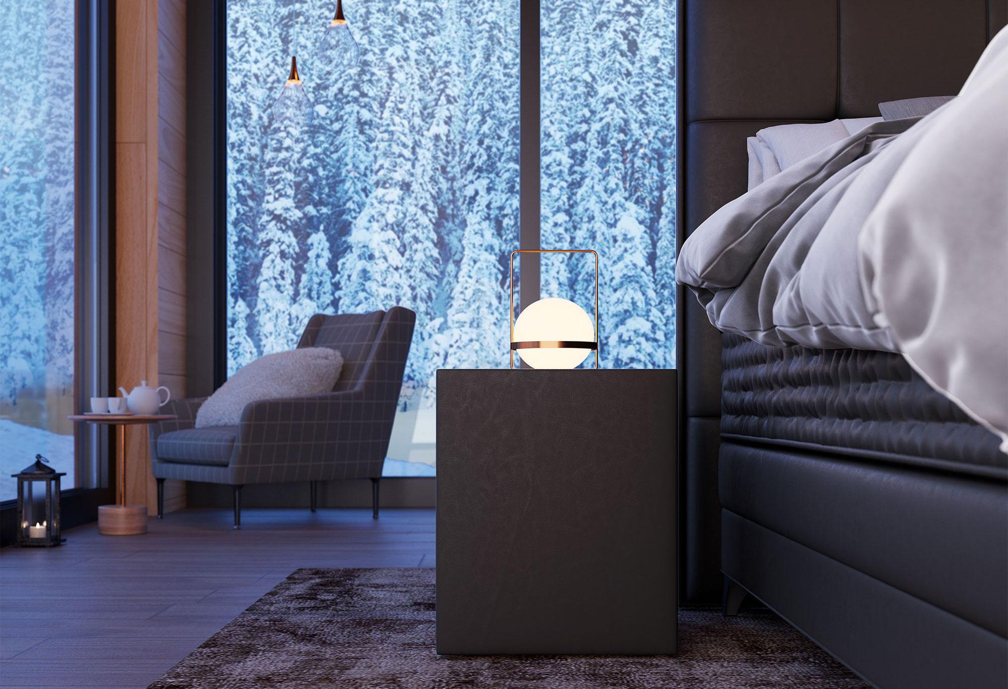 Boxspring Royal Aurora|Nachtkastje| Swiss Sense