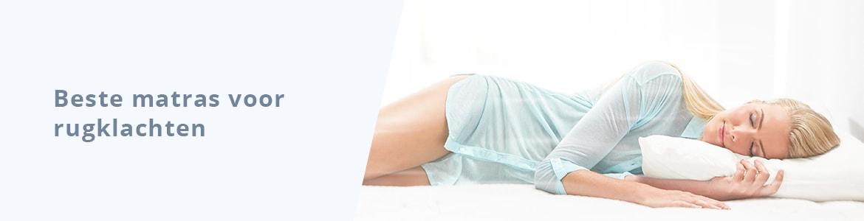 Beste matras voor rugklachten - Banner