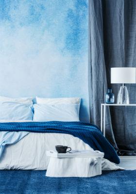 Slaapkamer Inrichten |  Blauwe Slaapkamer 1