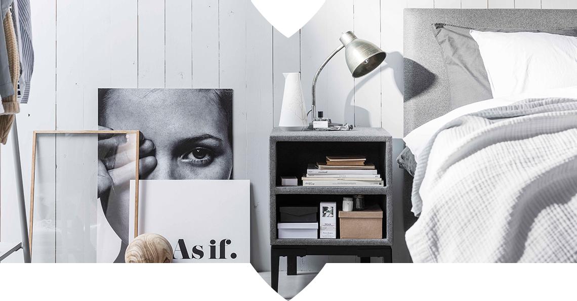 3 nachtkastjes om je slaapkamer te stylen | Swiss Sense