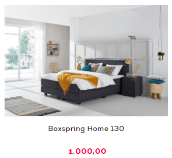 Boxspring aanbieding Home 130