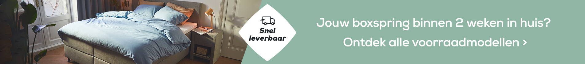 Snel leverbare boxsprings | Swiss Sense