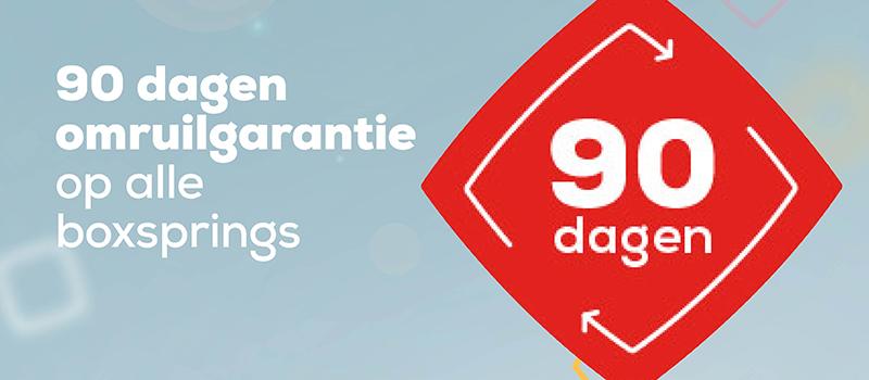 90 dagen omruilgarantie | Swiss Sense