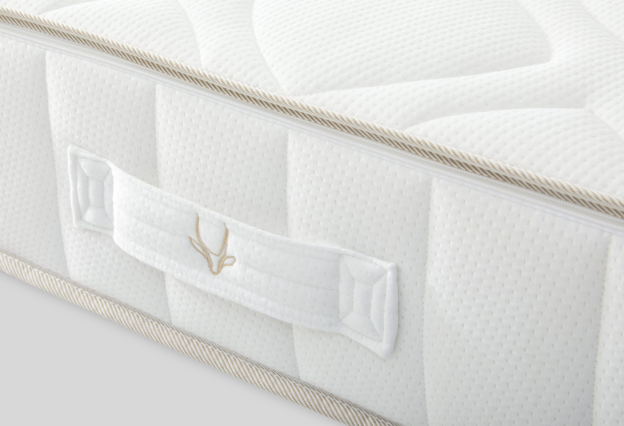 Gazella Breeze II Pocketvering Matras Detail | Swiss Sense