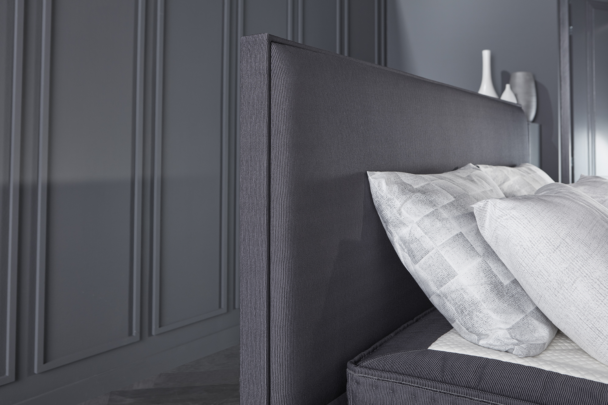 Vijftig tinten grijs in je slaapkamer | Swiss Sense