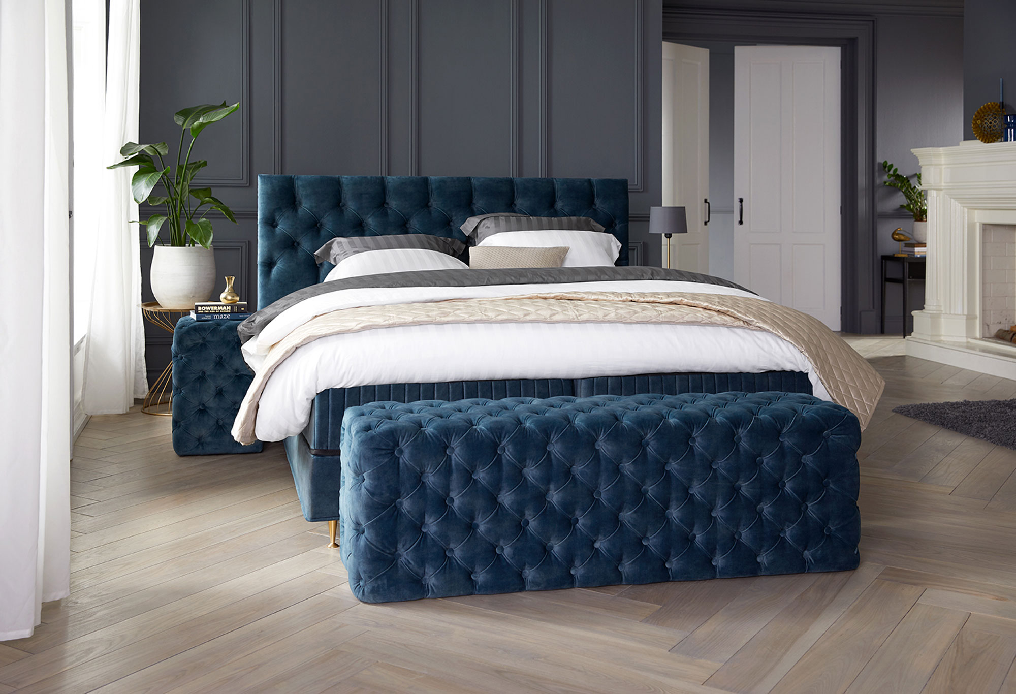 Boxspring Royal Atlantis| Voor| Swiss Sense