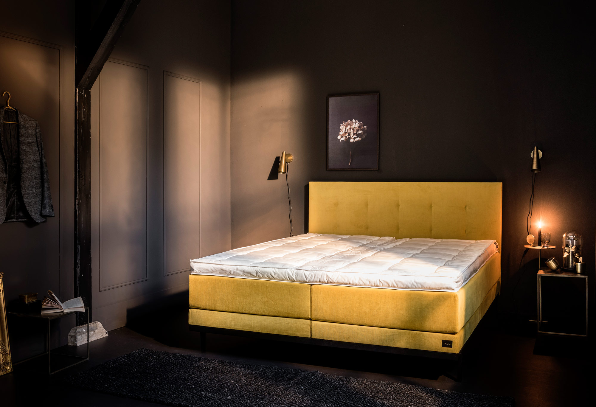 Boxspring Lifestyle by vtwonen Ginger  | Swiss Sense