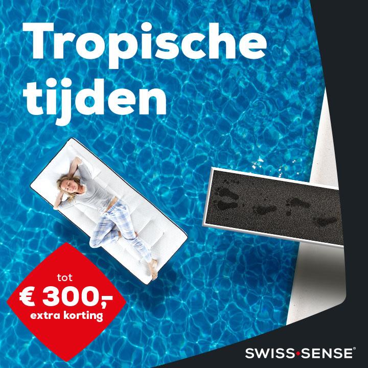 Tropische tijden bij Swiss Sense