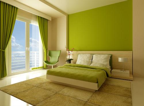 Slaapkamer Inrichten | Groene Slaapkamer 1