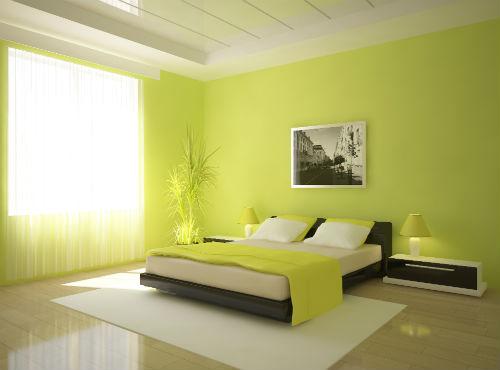 Slaapkamer Inrichten | Groene Slaapkamer