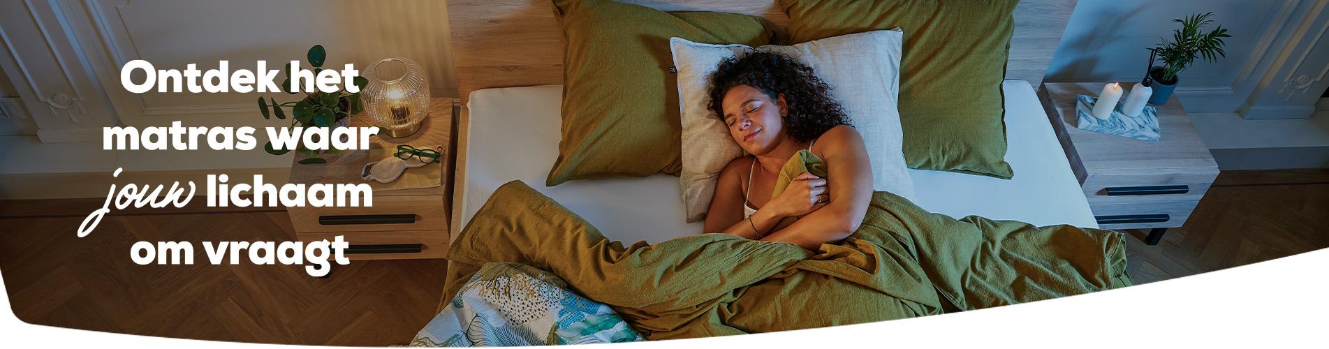 Ontdek het matras waar jouw lichaam om vraagt