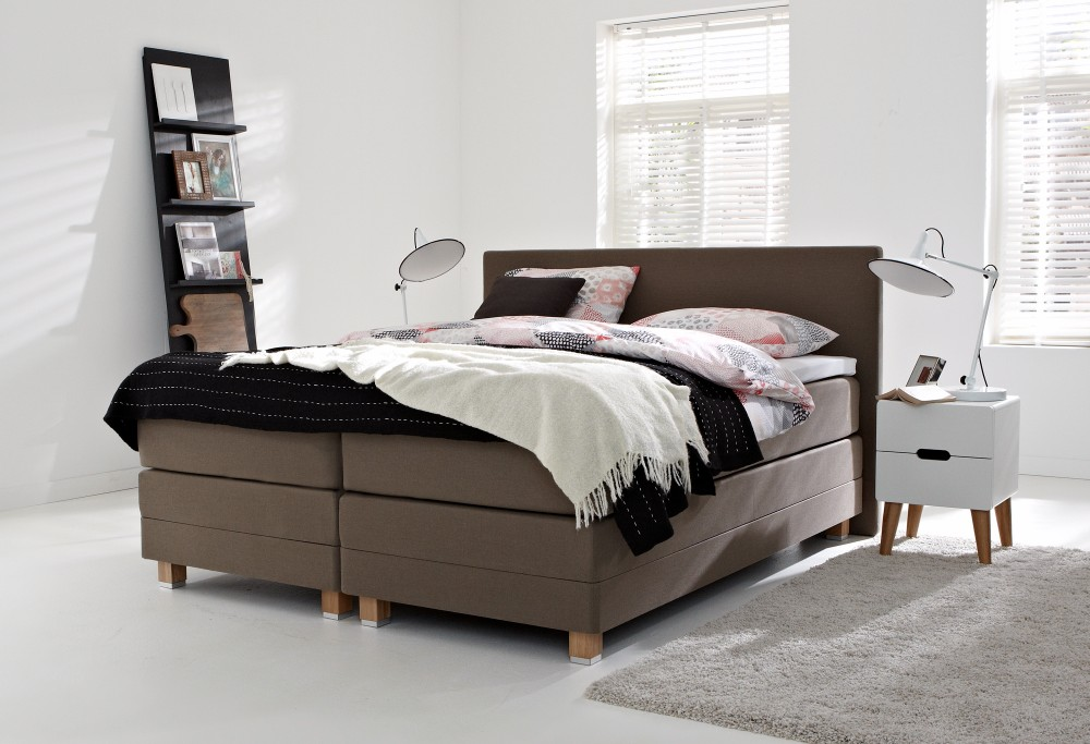 boxspring home 405 swiss sense beste keus. Black Bedroom Furniture Sets. Home Design Ideas