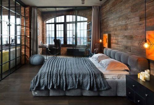 Slaapkamer Inrichten | Industriële Slaapkamer 1