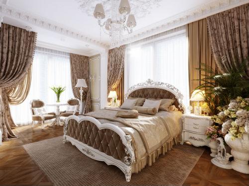 Slaapkamer Inrichten Klassiek : Klassieke slaapkamer heerlijk luxe en klassieke slaapkamer met