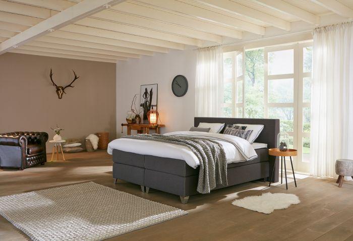 landelijke slaapkamer voorbeeld