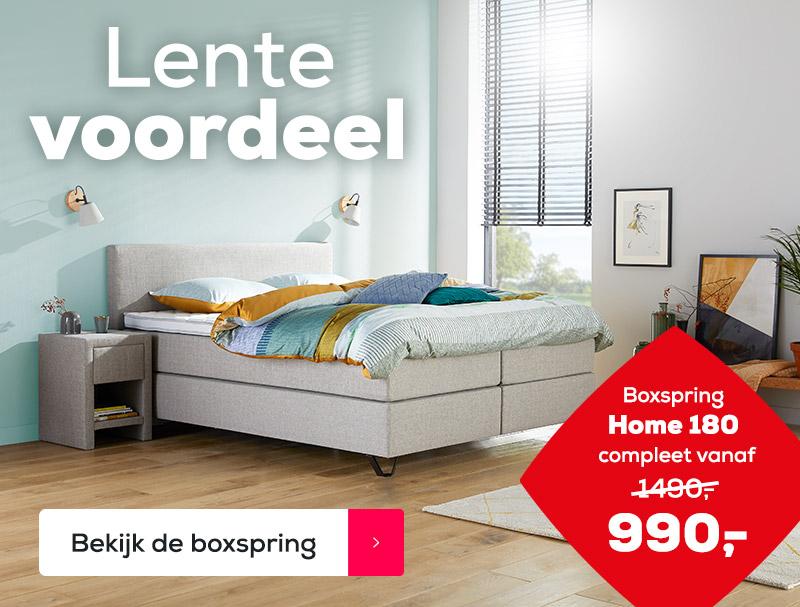 Lente Voordeel Boxspring Home 180 | Swiss Sense