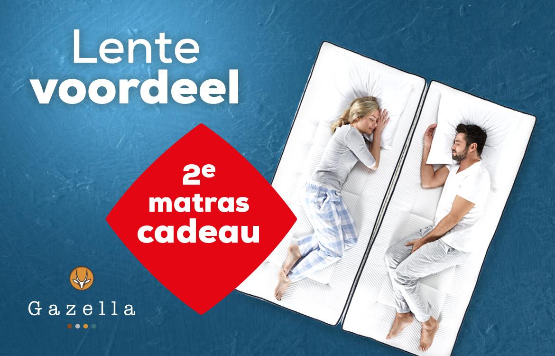 Lente Voordeel Gazella Matrassen | Swiss Sense